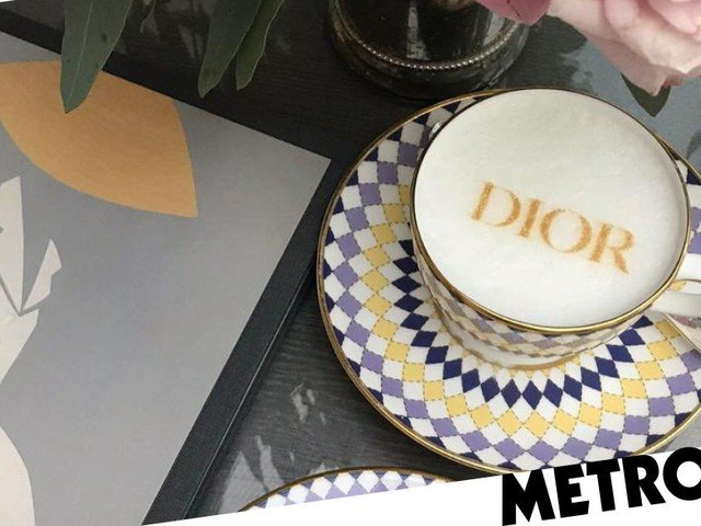 Dior-themed afternoon tea launches in time for London Fashion Week
