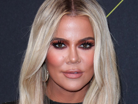 Khloe Kardashian's Lips Look Bigger Than Ever While Showing Off Her New Up 'Do & Over The Top Manicure