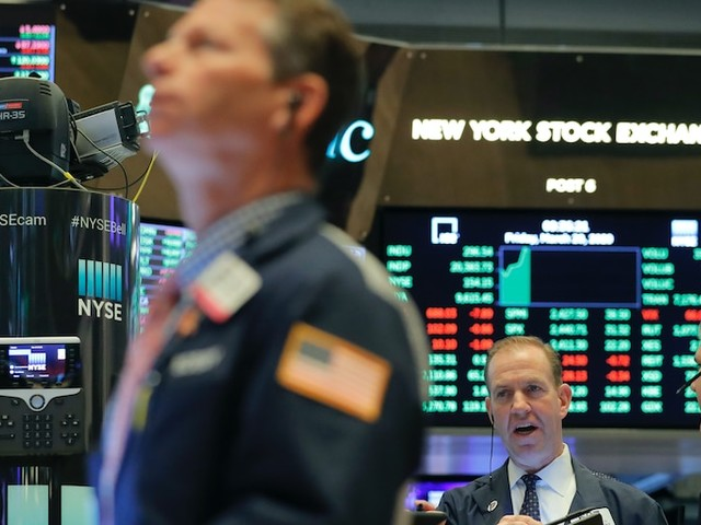 Dow jumps 300 points as oil-price recovery extends into its 5th day