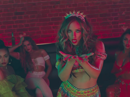 """Little Mix Sizzles In CNCO's Club-Based """"Reggaeton Lento"""" Video"""
