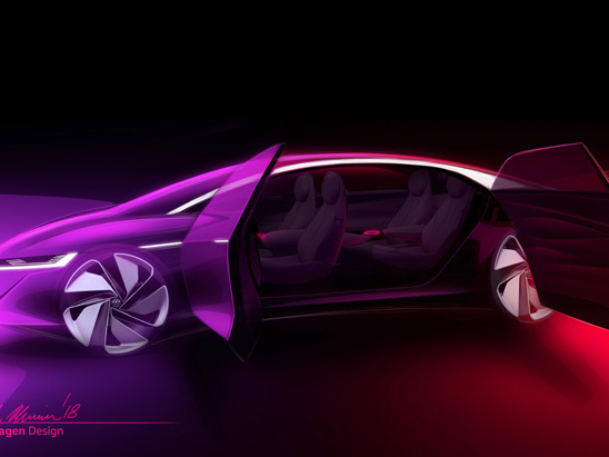 Volkswagen is Previewing its Self-Driving I.D. Concept in March