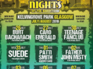 Suede, Bloc Party, The National, Burt Bacharach And More Set For Glasgow Kelvingrove Bandstand Shows