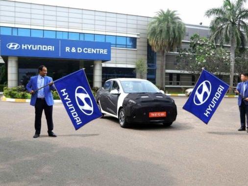 Hyundai's Aura Sedan Has Started Its Test Run Across The Country