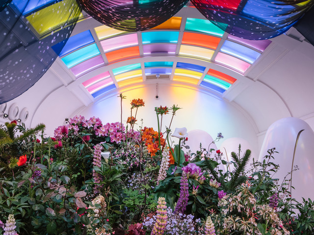 Smell The Poo-Quet! A Garden Has Appeared At Sketch's Famous Toilets Pods
