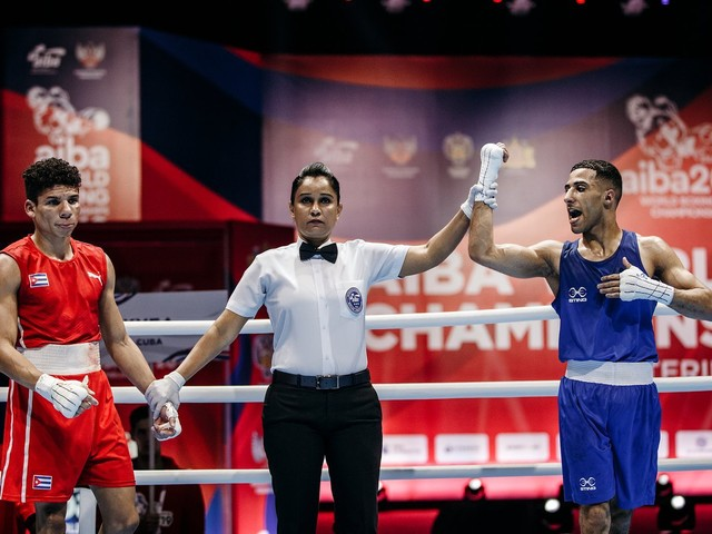 Yafai stuns defending champion Veitía at AIBA World Championships