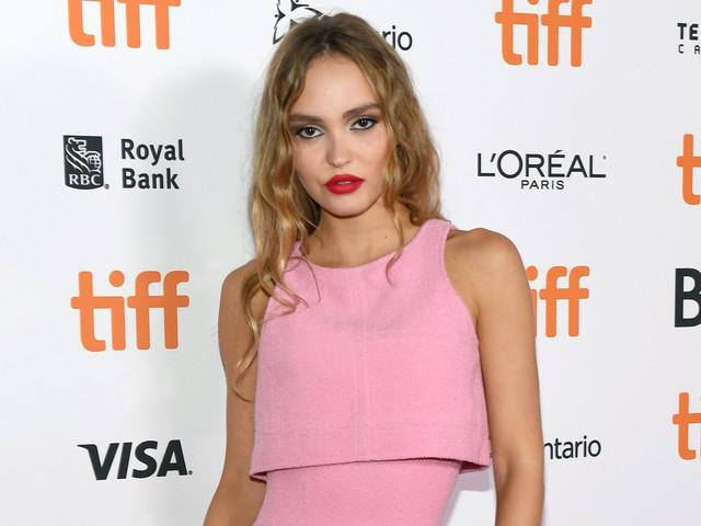 Lily-Rose Depp Rocks Pink Chanel Dress at 'Silent Night' TIFF Premiere!