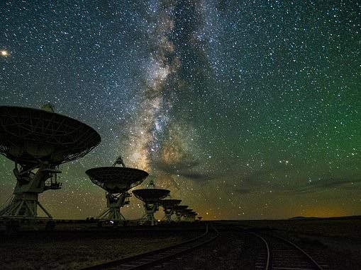 Alien hunters are searching for signatures emitted from 'interstellar beacons' using telescopes