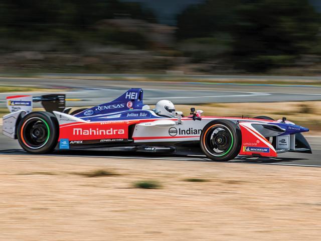 Electrifying formula: Driving a Formula E car