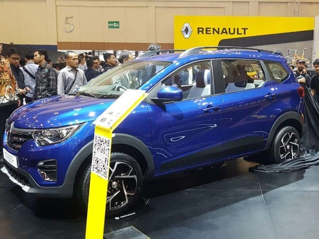 Indian-Made Renault Triber With Sporty Alloy Wheels Debuts At GIIAS