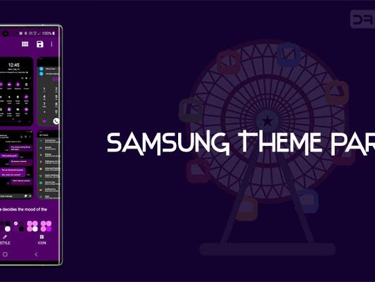 Theme One UI with Samsung Theme Park App (APK)