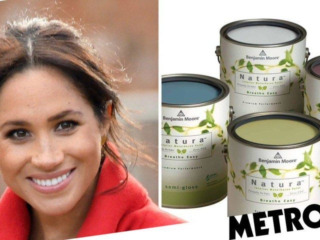 Pregnant Meghan 'will paint baby's nursery in toxic-free vegan paint'