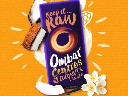Vegan brand Ombar launches new 70g bars