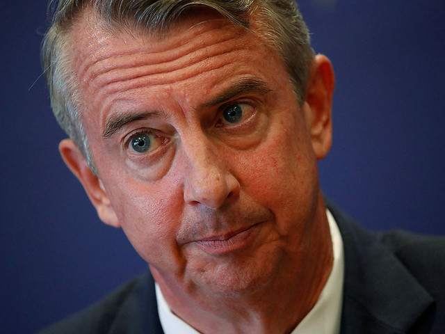 In race for Virginia governor, selectively playing the 'Trump card'