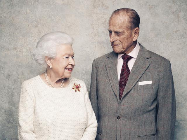 Queen Elizabeth and Prince Philip go platinum: Royals celebrate 70th wedding anniversary