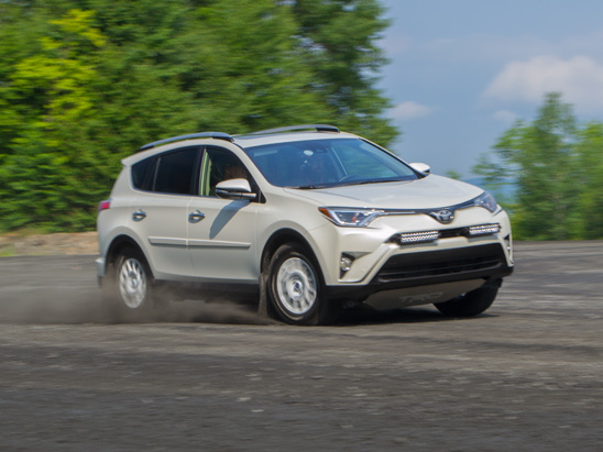 Getting Sideways in a Toyota RAV4 is Easier Than You Think