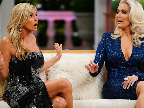 Camille Grammer Claims The Real Reason Lisa Vanderpump Quit 'RHOBH' Is Because Of Brandi Glanville
