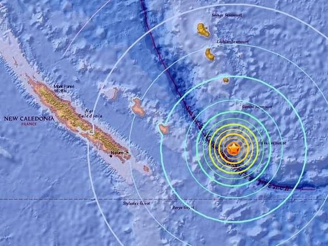 Earthquake strikes off New Caledonia triggering tsunami warning and evacuation