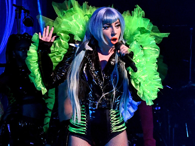 Lady Gaga Shares the Very Important Question She Always Asks During Apollo Performance in NYC