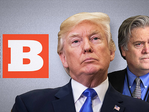 Breitbart to take on Trump after Bannon ouster