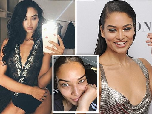 Shanina Shaik reveals her beauty tips while on the fly
