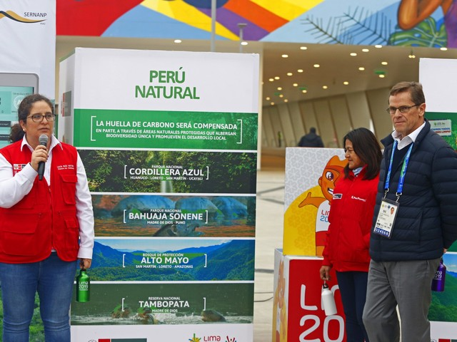 "Lima 2019 presents environmental action plan in bid to hold ""green"" Pan American Games"
