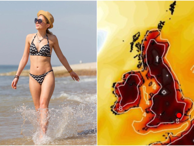 UK weather forecast – Easter set to be HOTTEST in 70 years as Brits bask in 26C bank holiday weekend scorcher