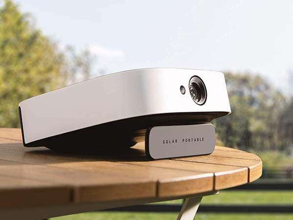 Precisely Powered Portable Projectors - The Anker Nebula Solar Portable Projector is Android-Powered (TrendHunter.com)