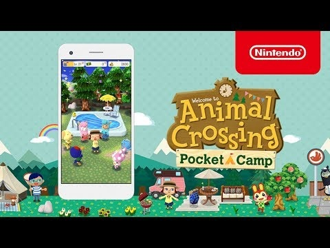Mobile Camping Games - Animal Crossing: Pocket Camp Has Players Manage a Campsite (TrendHunter.com)