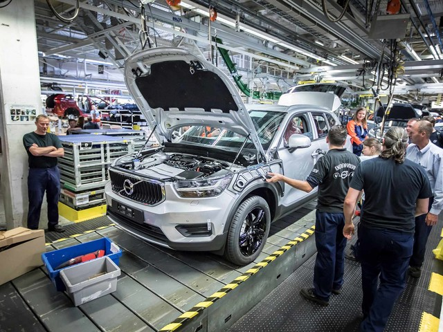 Volvo XC40 Enters Production in Belgium