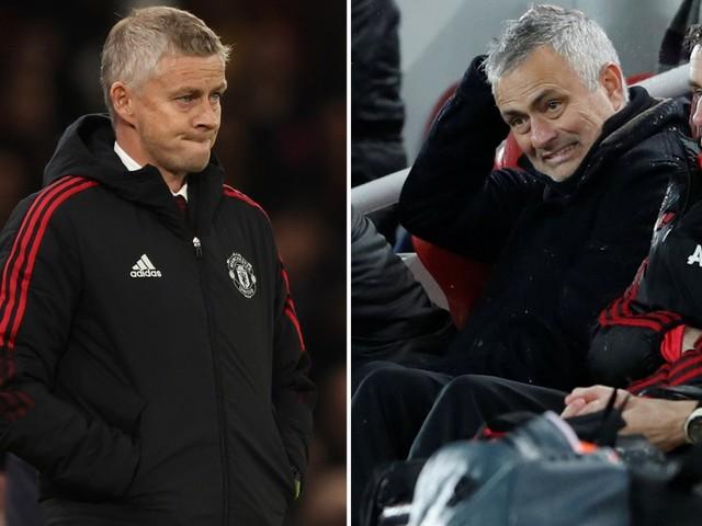 Man Utd predecessors Moyes, Van Gaal and Mourinho show under-fire Solskjaer the dangers of big loss to Liverpool