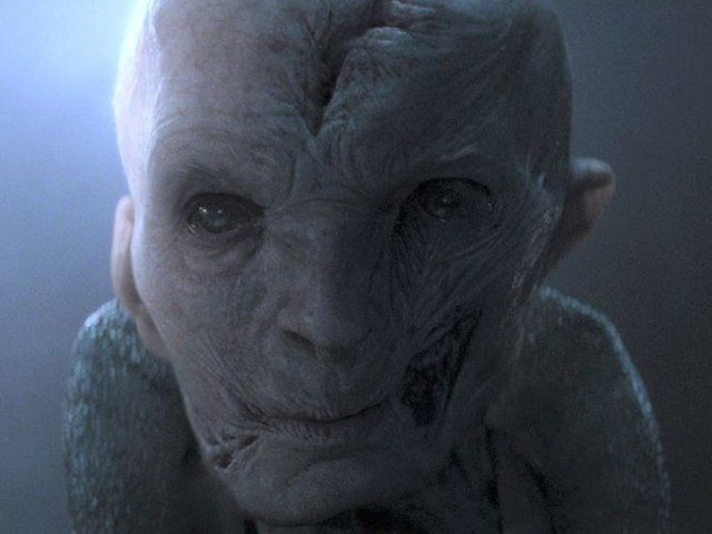The Last Jedi's Andi Serkis teases Snoke's backstory for Star Wars 8: 'You're onto something'