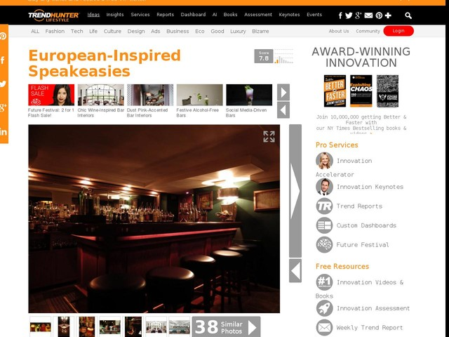 European-Inspired Speakeasies - Bar Marques is Worth the Exploration into Berlin's City Streets (TrendHunter.com)