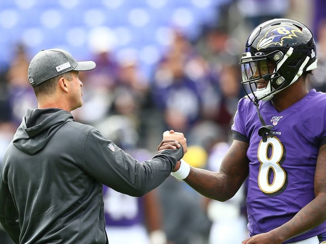 The Lamar Jackson-John Harbaugh bromance is everything