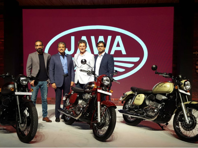 Jawa launched at Rs 1.54 lakh in India