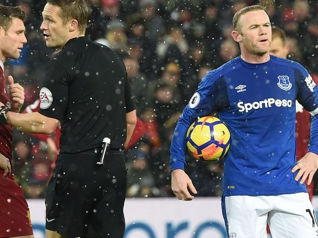 Everton hero Wayne Rooney admits he kept thinking 'You can't miss this penalty'
