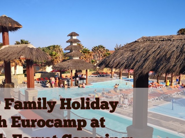 Staying with Eurocamp at Club Farret Campsite, South of France