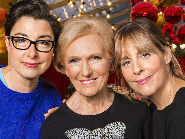 Mary Berry Reunites With Mel And Sue For BBC Christmas Special Marking Trio's First Post-'Bake Off' Show