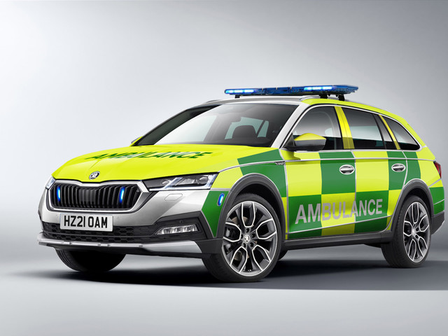 Skoda Octavia Scout returns – but only for emergency services