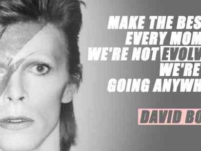 25 Best Quotes & Moving Song Lyrics By Legendary Iconoclast, David Bowie