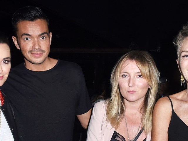 Sharon Stone, Malin Akerman, Kyle Richards and More Came Together for Ed Sheeran's L.A. Concert
