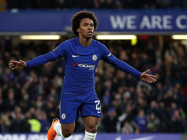 Willian: 'We know we can win the game' against Barcelona