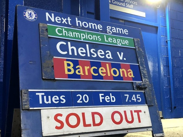 Chelsea vs. Barcelona, Champions League: Confirmed lineups & Game thread