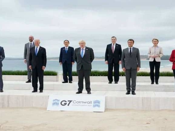 G7 summit: From climate change protests to vaccine politics, here#39;s a look at all the action