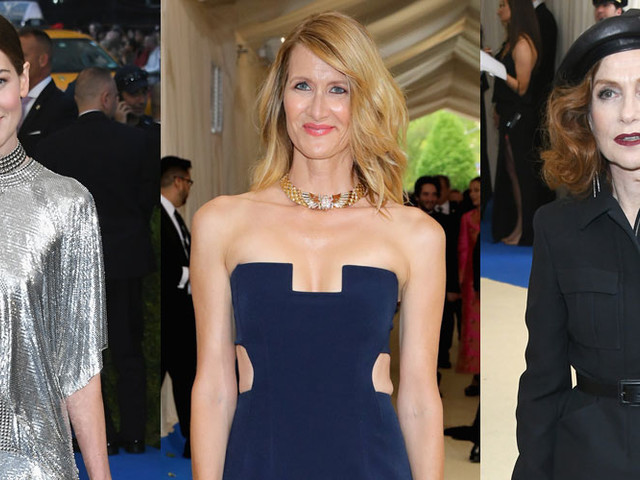 Michelle Monaghan, Laura Dern, & Isabelle Huppert Glam Up for Met Gala 2017