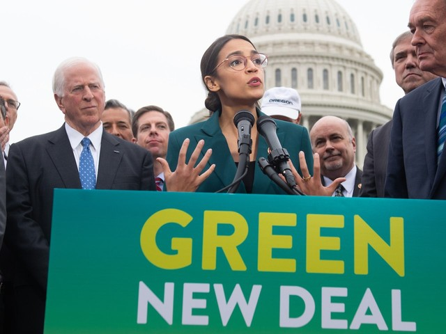 Alexandria Ocasio-Cortez and team attempt damage control after a fumbled Green New Deal rollout that included a line about paying Americans 'unwilling to work'