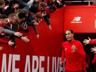 Liverpool still have plenty to prove, insists Van Dijk