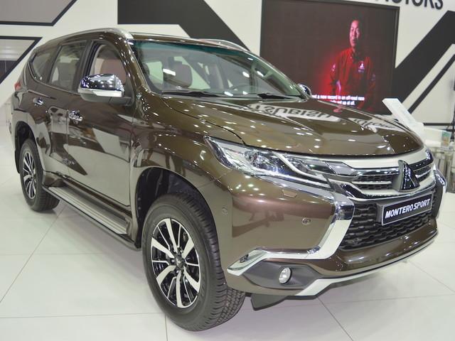 Mitsubishi Montero Sport showcased at the 2017 Dubai Motor Show