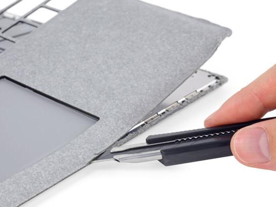 Microsoft Surface Laptop scores zero for reparability