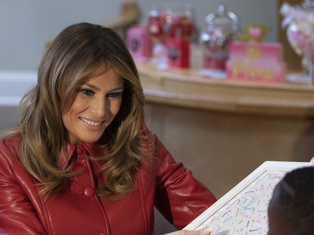 Melania Trump's Instagram For Valentine's Day 2020 Shared This Solo Tradition