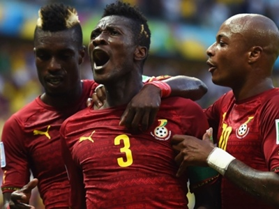 Asamoah Gyan's memorable moments with the Black Stars